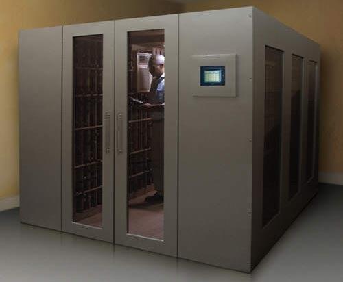 Walk-In Wine Cellar Vault, Our Superhero Lair