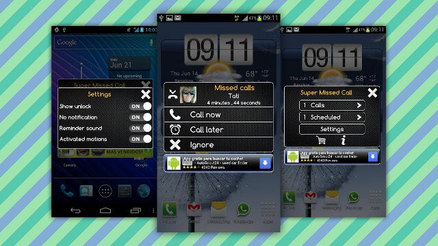 Super Missed Call for Android Uses Motion Controls to Ignore or Return Incoming Calls
