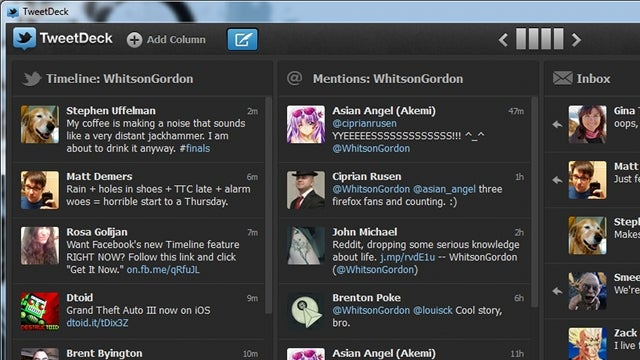 TweetDeck Releases New Native Client for Windows and OS X, Isn't Quite as Feature-Filled as the AIR Version