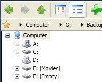 Snowbird is a Snappy Portable File Explorer