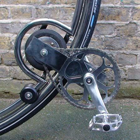 Ben Wilson's Monocycle Calls for Pert Buttocks