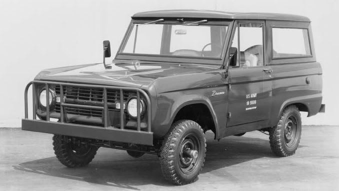 That Time Ford Made Broncos for the US Military