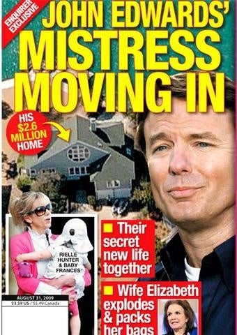 John Edwards Finding Even More Ways to Make His Wife Miserable
