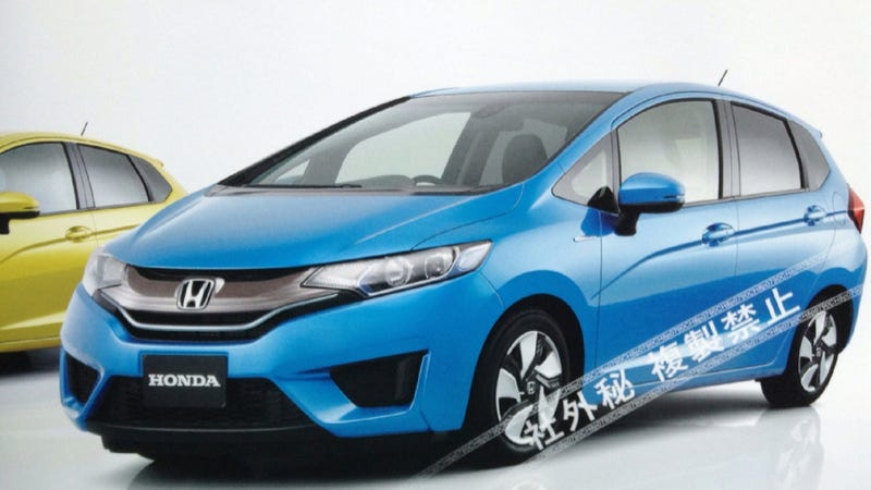 Are You The 2014 Honda Fit?