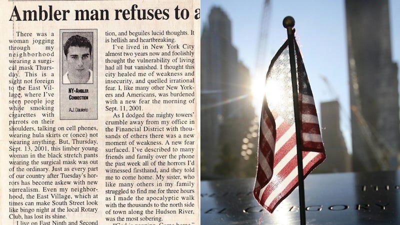 The Best 9/11 Column Ever Written by a Man Who Briefly Lived in Montgomery County, Pennsylvania