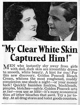 """My Clear White Skin Captured Him!"""