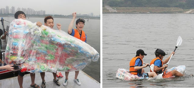 Potato Chip Boat Proves There's Far Too Much Air In Your Bag of Snacks