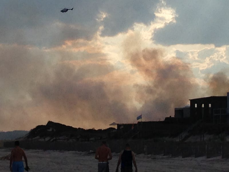 THE MEAT RACK IS ON FIRE : FIRE ISLAND