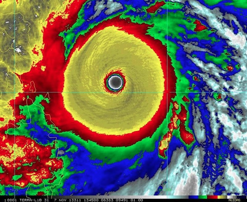 Monster Typhoon Among History's Largest, Strongest Storms Ever
