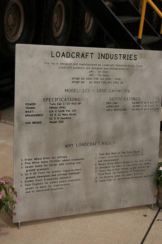 Loadcraft 1000 Carrier Rig