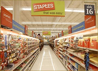 Staples to Start Selling Self-Destructing DVDs, Didn't Get the Memo