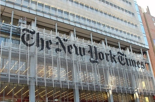 New York Times Warns Newsroom on Anonymous Sources