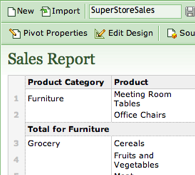 Zoho Sheet Adds Macros and Pivot Tables