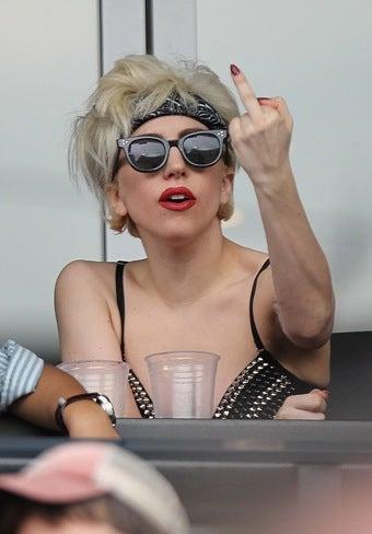 Mets Hawk Gaga-Style Foam Fingers