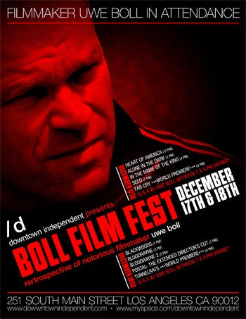 Spend Two Days With Uwe Boll In LA This Week