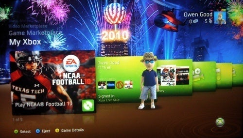 New Year's Theme is Free on Xbox Live