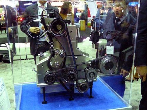 Scuderi Split-Cycle Bench Prototype