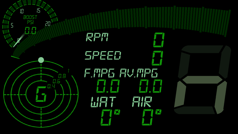 Just got a BT OBDII Dongle, Torque Pro, and Racing Meter. What would Oppo change about my layout?