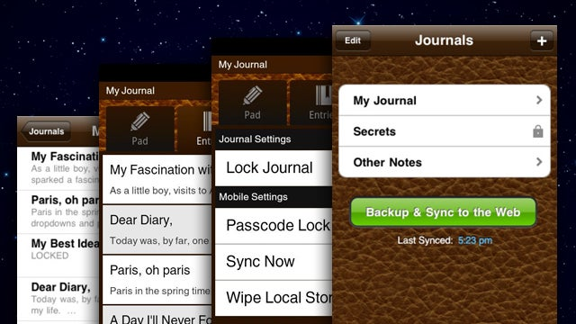 Penzu Mobile Apps for iOS and Android Let You Take Your Private Journal With You