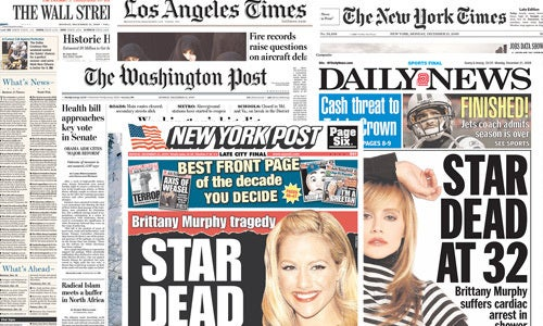 Brittany Murphy Is Not Big Enough for the Broadsheets