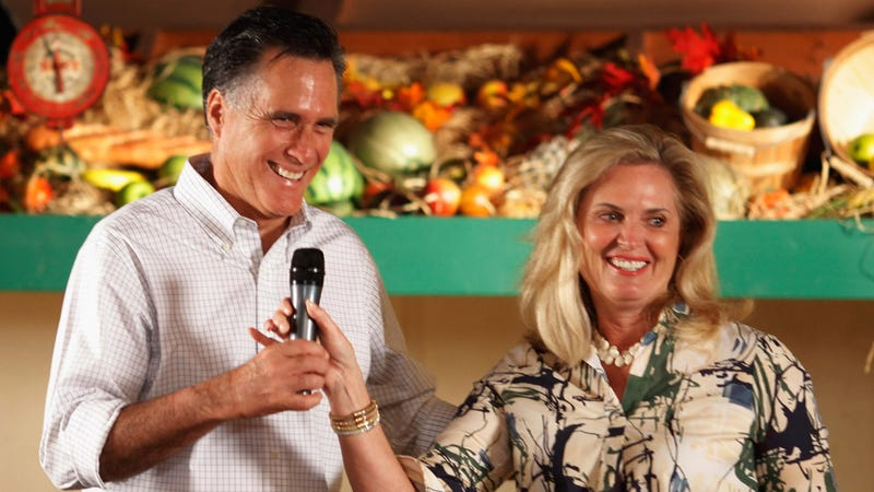 Ann Romney Begs Women to Support Her Husband