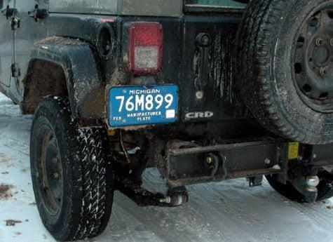 Spy Photos: Jeep Wrangler CRD