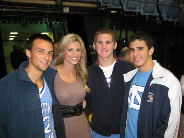 Erin Andrews Is Not Creeped Out by These Fine, Upstanding Tar Heels