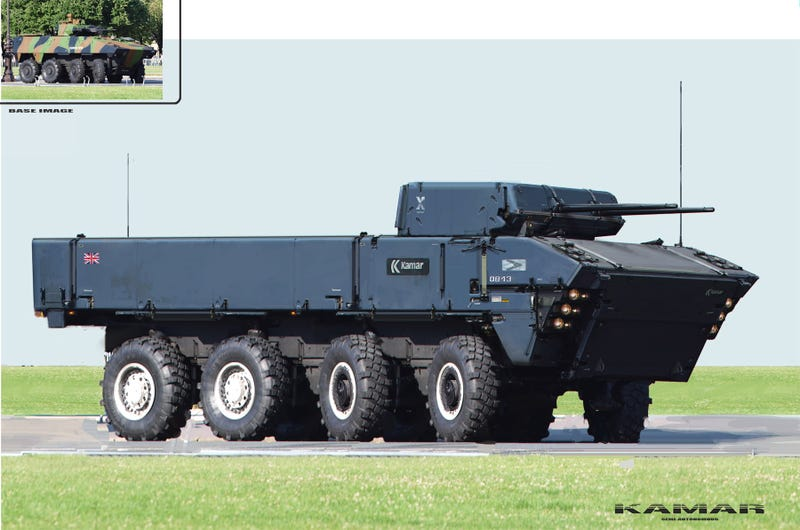 My, What Big Tanks You Have
