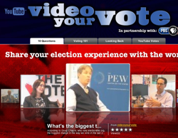YouTube and PBS Want You to Video Your Vote