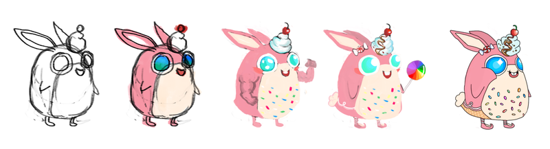 Let's look at Wigglytuff! Pokemon One a Day!