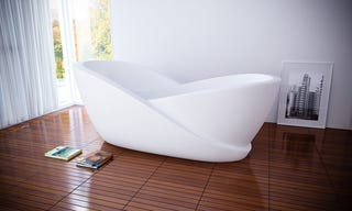 I Would Be Happy With Just Half an Infinity Bath