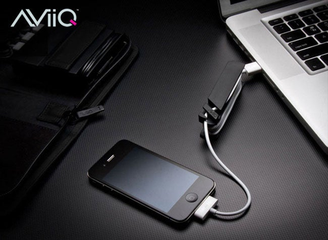 Avoid this Inevitable Jumbled Mess, Snag AViiQ's Portable Charging Station 45% Off
