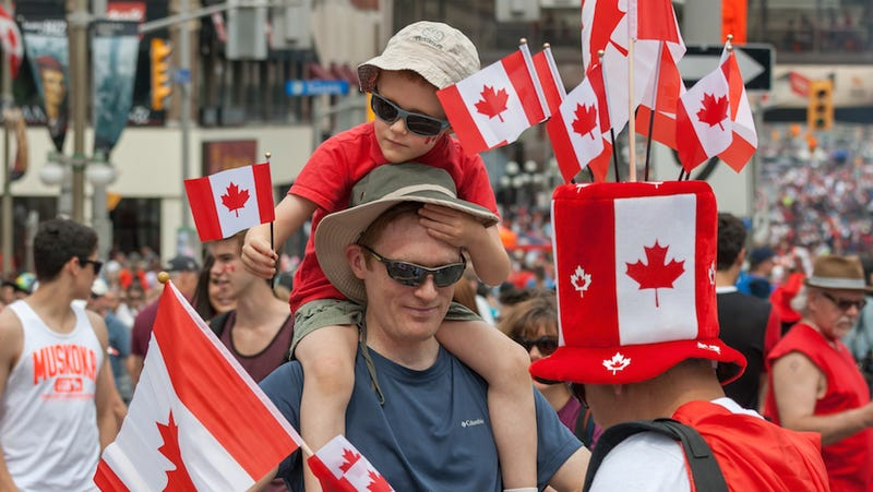 Screw Soccer, Today Is Goddamned Canada Day