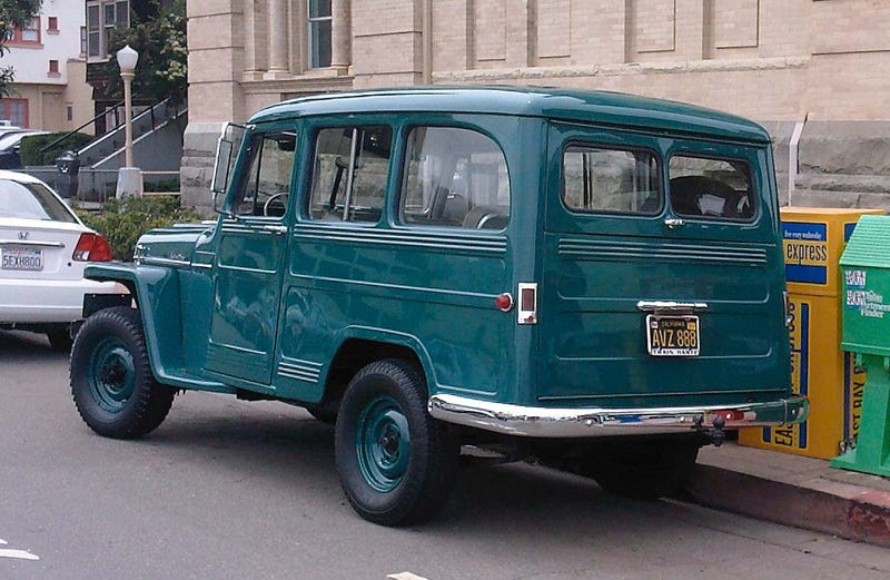 1951 Willys Jeep Station Wagon