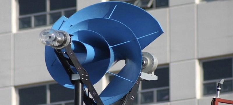 Eureka! A Whisper-Quiet Wind Turbine Based On Archimedes' Screw