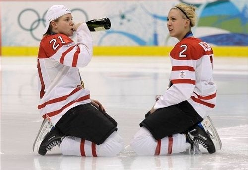 World Aghast at Routine Drunkeness of Canada's Olympic Heroines