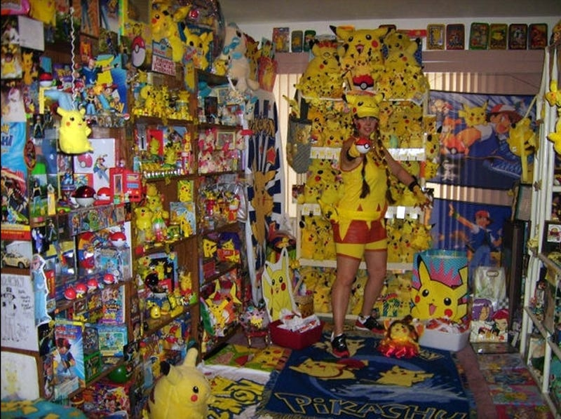 Pikachu Lady And Her Pikachu Minions Scare Us