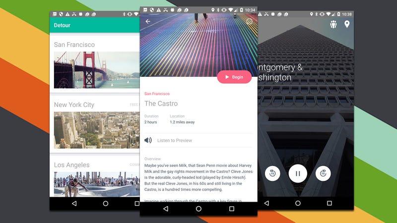Detour Provides GPS-Guided Audio Tours of Major Travel Destination Cities