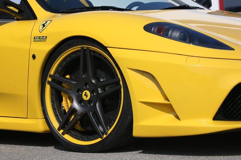 """Novitec Rosso Ferrari Scuderia 16M: 696 HP, 205 MPH, """"P***y Magnet"""" Yellow"""