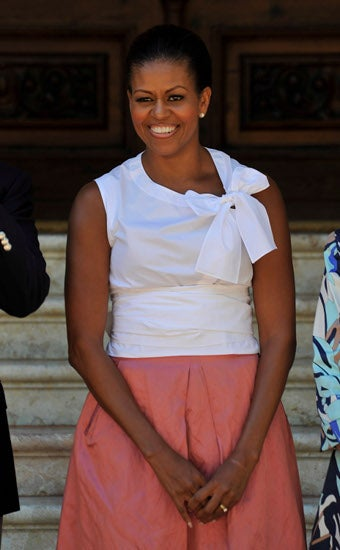 Debate Over Michelle Obama's Vacation Wardrobe Unites The Nation!