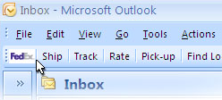 Create Quick FedEx Shipments from Outlook with QuickShip