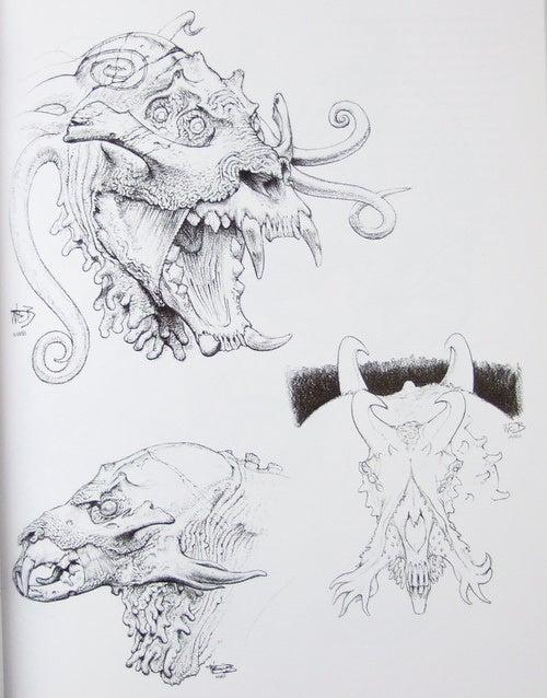 Wayne Barlowe art
