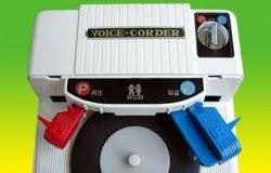 Tomy Vinyl Recorder