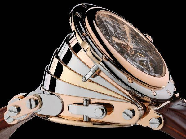Complex $1.2 Million Manufacture Royale Accordion Watch Plays a Simple Tune