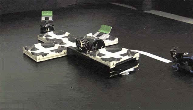 These Autonomous Bots Build Structures With a Hive Mind of Their Own