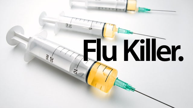 Scientists Create the Definitive Flu Killer
