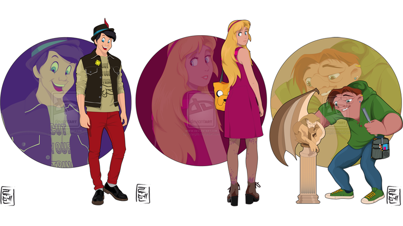 If Disney Characters Were College Students