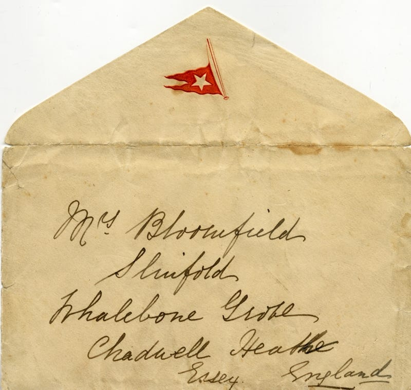 Blissfully Unaware Titanic Letter Sold for $200,000