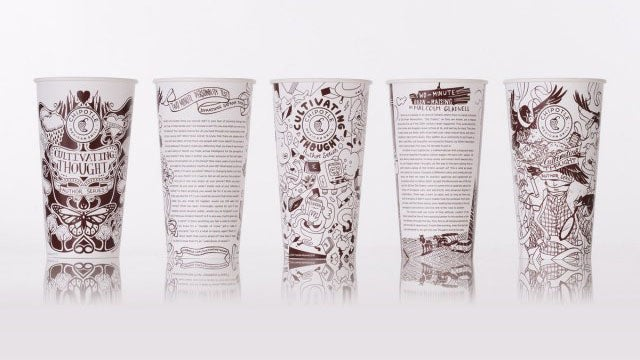 Chipotle Classes Up the Joint With Literary Readings on Its Cups