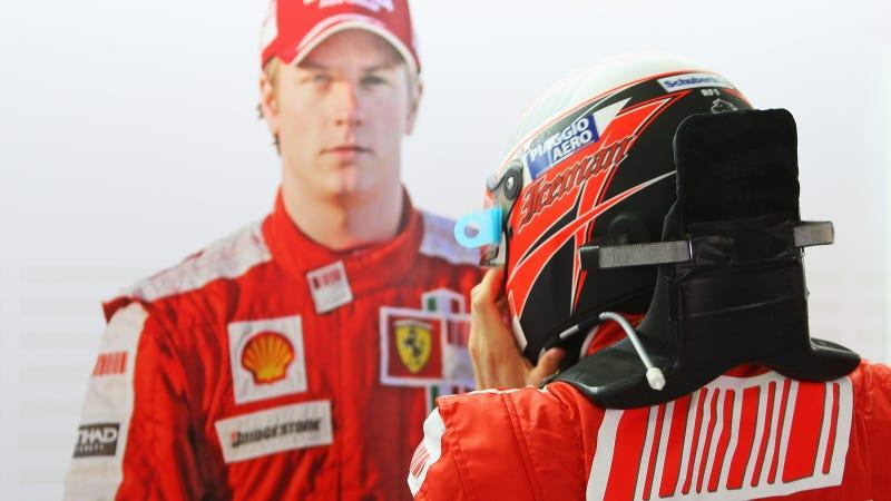 Kimi Räikkönen Will Drive For Ferrari Next Year